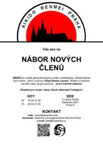 Nábor Aikido Renmei Praha