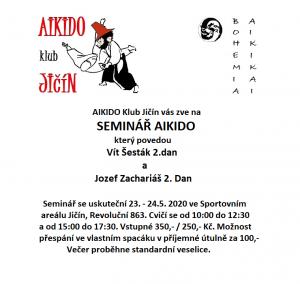 seminář Jičín 5/2020