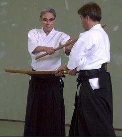 Nishio sensei a Yoshida sensei 2002